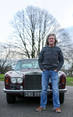 James May and his 1972 Rolls-Royce Corniche