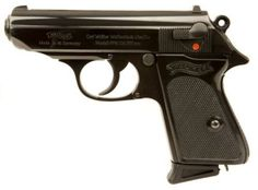 Post-war Walther PPK pistol. tips on disassembling and cleaning. Get tips for other guns as well