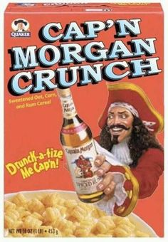 Captain Morgan Crunch