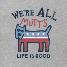 Women's We're All Mutts Rocket Crusher Tee