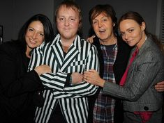 James McCartney joined by dad Paul and sisters Mary and Stella at ...