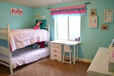 Image result for teens sharing a room with full on full bunk beds