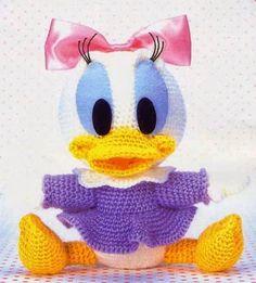 Amigurumi Baby Daisy Duck - FREE Crochet Pattern / Tutorial