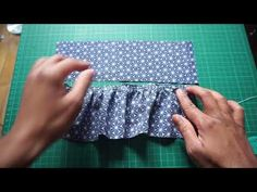How to make gathers / Tutorial Techniques Couture, Pli, Tutorial, Sewing, Dressmaking, How To Sew, Tutorial Sewing, Fabric, Custom In
