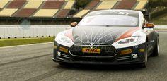 ❝ Tesla Model S para competición Electric GT [VÍDEOS] ❞ ↪ Vía: Entretenimiento y Tecnología en proZesa