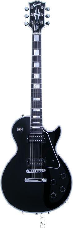 Gibson Les Paul Custom Ebony Chrome