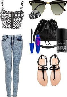 """going downtown ❤"" by sarahnaomixo on Polyvore"
