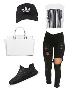 """"""""""" by tay-liangg on Polyvore featuring adidas, Alexander Wang, Michael Kors, women's clothing, women, female, woman, misses and juniors"""