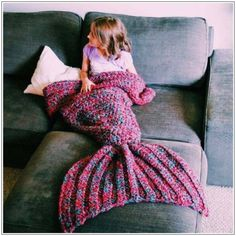 US $34.19 (Buy here - https://alitems.com/g/1e8d114494b01f4c715516525dc3e8/?i=5&ulp=https%3A%2F%2Fwww.aliexpress.com%2Fitem%2F2016-Wool-Knitted-Baby-Girls-Mermaid-Blankets-Mermaid-Tail-Handmade-Throw-Blanket-Super-Soft-Kids-Swaddle%2F32720784528.html) 2016 Wool Knitted Baby Girls Mermaid Blankets Mermaid Tail Handmade Throw Blanket Super Soft Kids Swaddle Sleeping Blanket