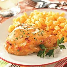 West Coast Chicken Recipe- Recipes  We're far from the West Coast-but the orange and ginger in the sauce for this chicken give us a taste of that part of the country. And it's one we enjoy frequently...my family wouldn't mind if I served this dish a couple of times every week!