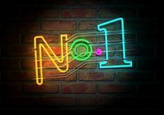 No 1 neon