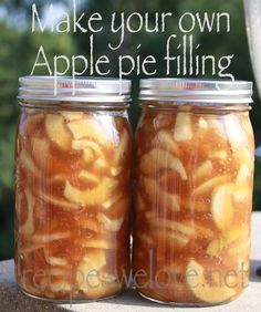 Apple Pie Filling — water bath canning | Recipes We Love