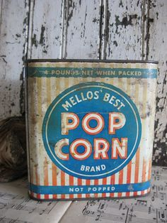 Mellos Best Pop Corn Brand