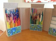 DIY Pencil Case – Prepare on your own for a very charming along with extremely . Read moreBest DIY Pencil Case and Pouch Ideas You Will Read This Year Art Supplies Storage, Art Storage, Storage Ideas, Diy Pencil Case, Pencil Boxes, Pencil Holders, Pencil Pouch, Urban Threads, Colored Pencil Storage