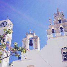 Church of Filoti, Naxos - Greece.