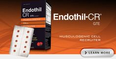 Endothil®-CR — Muscologenic Cell Recruiter™*: Formulated to assist muscle recuperation cycle, healthy muscle growth, upper and lower body strength, muscle mass and circumference.*