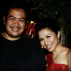 With Ruth Sahanaya