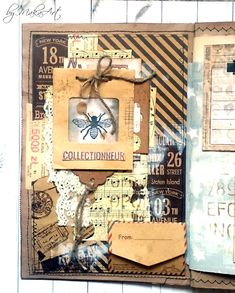 Welcome to my blog!   Today I would like to share with you my latest project for ScrapArt.cz . I created mixed media junk journal from kr...