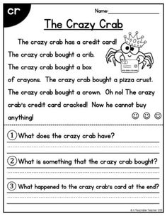 All-in-One Reading Passages - Blends and Digraphs Edition - A Teachable Teacher