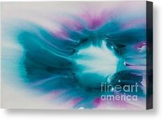 Reflections Of The Universe No. 2308 Canvas Print by Ilisa Millermoon I paint Reflections of the Universe to honor and celebrate every human being's connection and ability to commune with the earth, sun, moon, and stars with the universe itself!