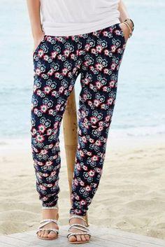 Buy Navy Floral Harem Trouser from the Next UK online shop