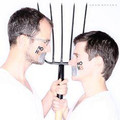 NO H8 - The Beekman Boys - Josh Kilmer & Dr. Brent Ridge