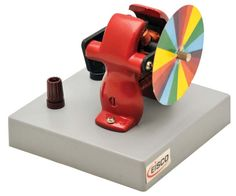Demonstration Motor with Newton Color Disc