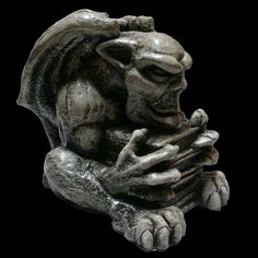 Book Hoarder, I got him at the Gargoyle Statuary in Seattle, Wa. Love him!