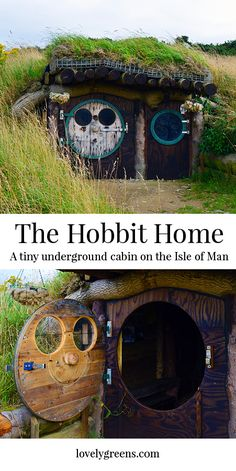 The Hobbit House is a Tolkien inspired underground cabin on the Isle of Man. It…