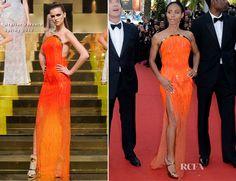 Jada Pinkett-Smith In Atelier Versace – 'Madagascar 3′ Cannes Film Festival Premiere