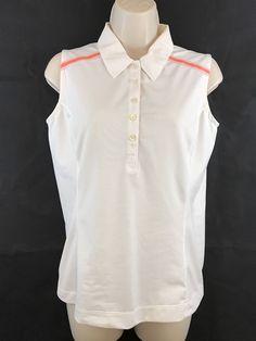 dddc949eeca Women's Nike Golf Nike Fit Dry White Sleeveless Top Size Small #NikeGolf  #ShirtsTops Tunic