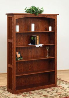 Amish Holmes Mission Bookcase