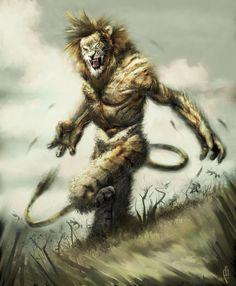 Leo, leonine warrior by Orion35.deviantart.com on @deviantART