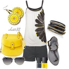 Feeling Sunny, created by christa72 on Polyvore