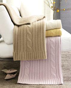 Pink cashmere blankie please...