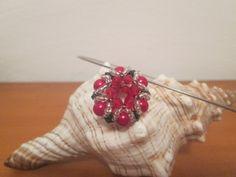 Pandant for my nice ,gif for her  birthday, made using Sidonia's handmade jewelry - Beaded Bead Tutorial  .Thanks Sidonia