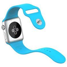 Apple Watch Banda JETech 42mm Silicona Suave Reemplazo de Banda Sport Band para Apple Watch Todos los Modelos 42mm