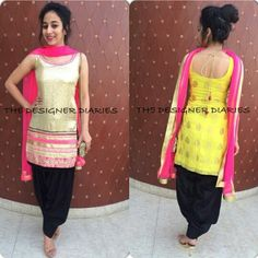 Punjabi Suit by The Designer Diaries