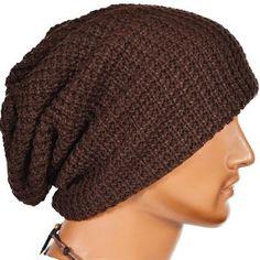 6eb61071630 Men s Slouchy Beanie Knit Winter Warm Daily Streetwear Cap