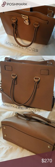 Michael Kors Hamilton bag with cover Michael Kors Hamilton bag with cover ...great condition Michael Kors Bags