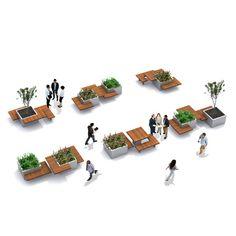 inrichtingssysteem combineert werken en groen
