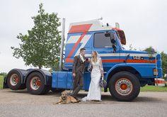 www.Trouwgeheimen.nl/trouwfotos-met-hond/ Trucks, Vehicles, Truck, Car, Vehicle, Tools