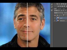 Tutorial Como reducir las arrugas de forma realista en Photoshop CS6 - YouTube