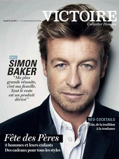 #SimonBaker French interview - Victoire with Le Soir (belgian magazine) more here