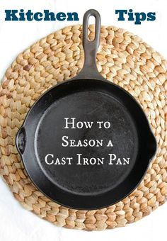 Everything You Need To Know About Cast Iron Cooking