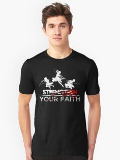 Attack on titan - streng then your faith Unisex T-Shirt