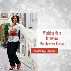 Mofoluwaso Ilevbare is a transformational Leadership Coach, Speaker & Trainer. She champions a charity for empowering women & young girls around the world. Working Mom Tips, Working Mother, Sales And Marketing Strategy, Digital Media Marketing, Leadership Coaching, Return To Work, Social Media Graphics, Raising Kids, Parenting Hacks