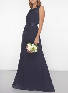 Womens **Showcase Tall Navy 'Natalie' Maxi Dress- Navy