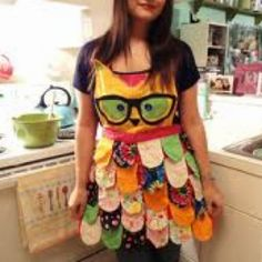 Owl apron!! I MUST make this!!!!