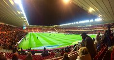 The Boro v QPR game ended 1-0. My first game since Gordon Strachen took over!